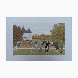 Lithographie The Sella par Vincent Haddelsey