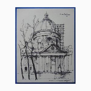 Incisione su Pantheon di Michel de Gallard, 1963