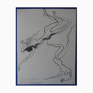 Swimmers Stich von Louis Leygue, 1963