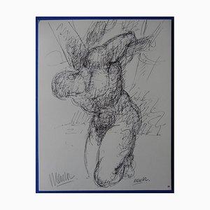 Gravure The Burden par Blasco Mentor, 1963