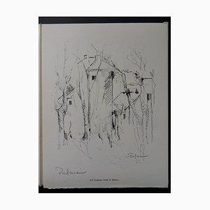 Gravure de Maisons Helio par José Palmeiro, 1961