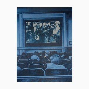 Sérigraphie USA Movies par Jacques Monory, 1976