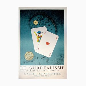 Surrealism Sources-Hitoire and Affinities par Max Ernst, 1964