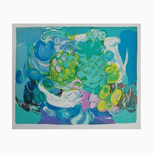 Untitled Lithograph by Denise Bourdouxhe