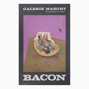 Affiche de Nu Décroissant Galerie Maeght Lithographie d'après Francis Bacon, 1956