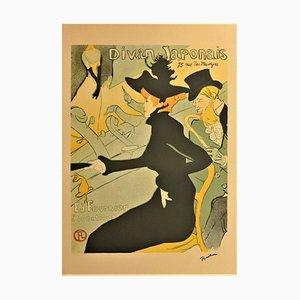 Lithographie The Divan Japonais d'après Henri de Toulouse-Lautrec, 1901
