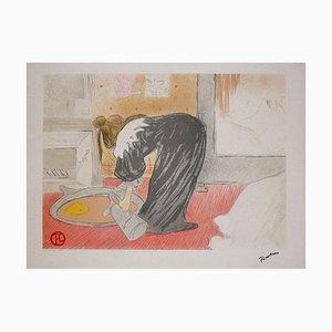Lithographie d'après Henri de Toulouse-Lautrec