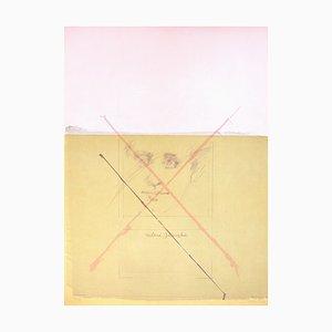 Litografia goffrata su carta Guarro Vélin di Roser Bru & Milena Jesenska, 1979