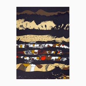 36-75 Lithograph by Josep Guinovart, 1976