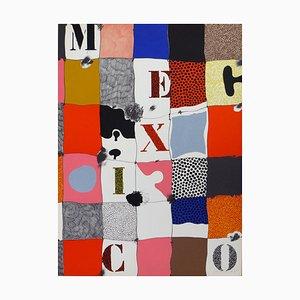 Lithographie Mexico par Josep Guinovart, 1976