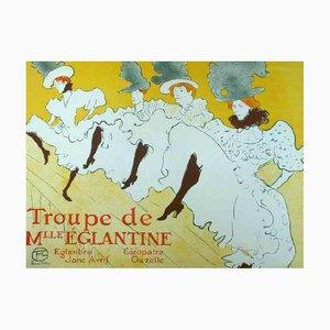 Miss Eglantine Lithographie nach Henri de Toulouse-Lautrec, 1977