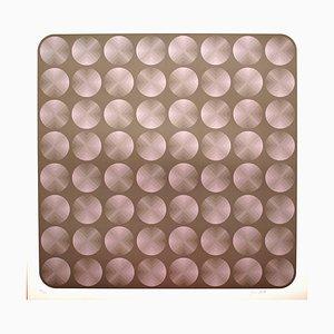 Tribute to Vasarely 7 Fotolithografie von Jim Bird, 1972
