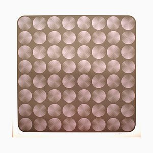 Tribute to Vasarely 7 Photolithograph by Jim Bird, 1972