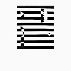 Kinetic Composition Siebdruck von Yaacov Agam, 1928