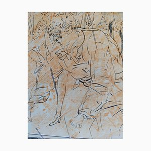 Lithographie Untitled par Francesc Artigau, 1989