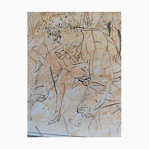 Untitled Lithograph by Francesc Artigau, 1989