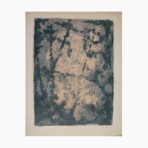 Lithographie Composition par Léon Zack, 1958