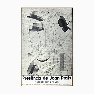Poster Exposition Presence of Joan Prats di Joan Miró, 1983