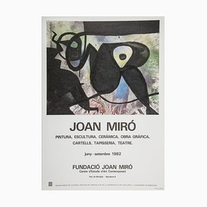 Miro Foundation Exhibition Lithograph Poster by Joan Miró, 1983