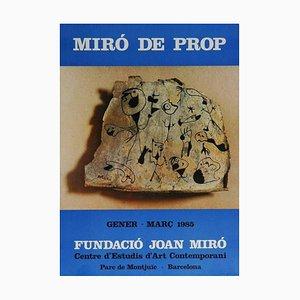 Miro Near Exhibition Exhibition Poster von Joan Miró, 1983