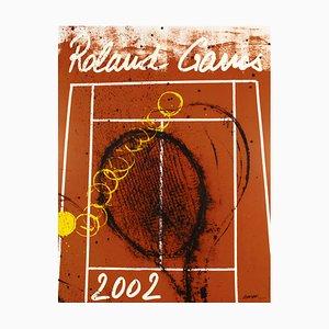 Affiche Roland Garros 2002 par Arman, 1928
