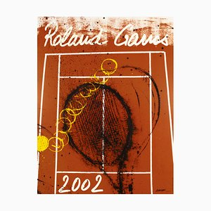 Poster del 2002 Roland Garros di Arman, 1928