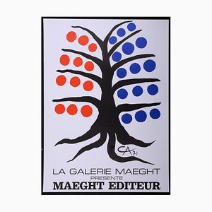 Maeght éditeur Lithograph Poster by Alexander Calder, 1971