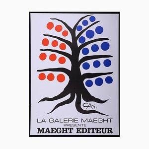Maeght éditeur Lithographie Poster von Alexander Calder, 1971
