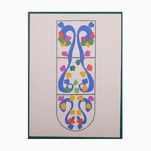 Lithographie Vignes par Henri Matisse, 1958