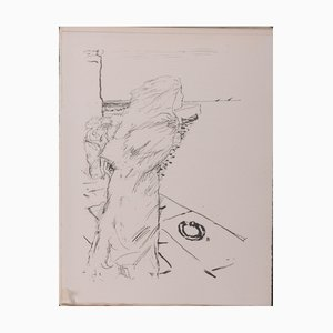 Litografia Life of Saint Monica di Pierre Bonnard, 1930