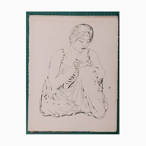 Life of Saint Monica Lithograph by Pierre Bonnard, 1930