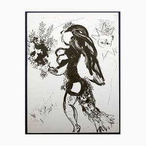 The Offering Lithographie von Marc Chagall, 1960