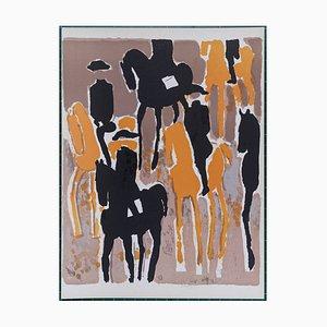 Black Frame by André Brasilier, 1964