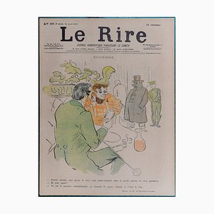 Laughter Snobbery Lithograph by Henri de Toulouse-Lautrec, 1897