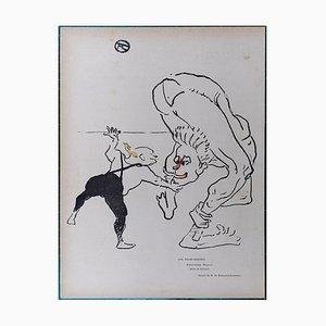 Litografia Laughter Brothers di Henri de Toulouse-Lautrec, 1895
