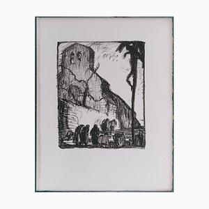 The Hallucinated Campaigns II Lithographie von Frank Brangwyn, 1927