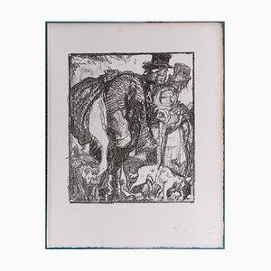 Litografia The Hallucinated Campaigns by Frank Brangwyn, 1927