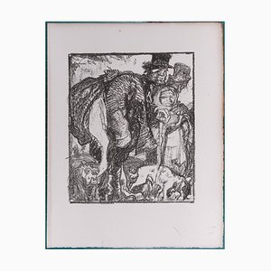 The Hallucinated Campaigns Lithograph by Frank Brangwyn, 1927