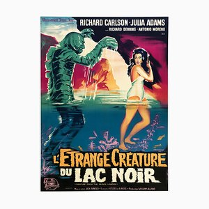 Creature from the Black Lagoon R1962 French Film Poster from Belinsky