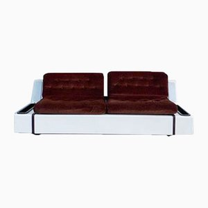 Space Age Tortuga Sofa in Fiberglass with Lighting from Beka, 1960s
