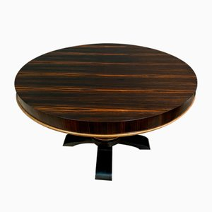 Art Deco Macassar Ebony Dining Table, 1930s