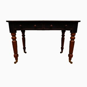 Table Console de Table Toppen Noire Antique