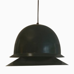 Dark Green Ceiling Lamp by Hans-Agne Jakobsson for Svera, 1970s