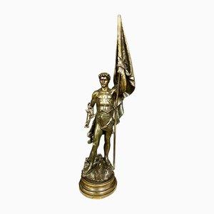 Grande Sculpture d'Antimoine