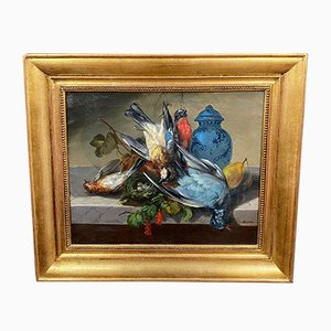 Barbizon School Still Life Painting