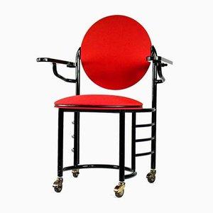 Johnson Wax Desk Chair by Frank Lloyd Wright for Cassina, 1992
