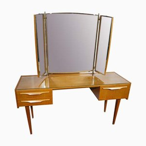 Cherry Wood Dressing Table, 1950s