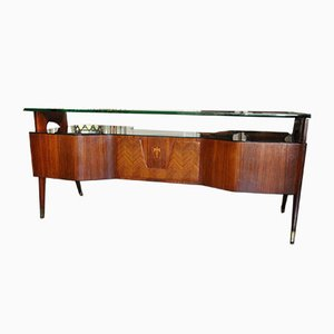 Mid-Century Italian Executive Desk by Vittorio Dassi, 1950s
