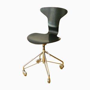 Sedia girevole nr. 3115 di Arne Jacobsen per Fritz Hansen, anni '60