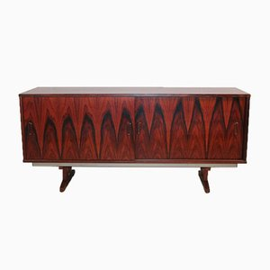 Danish Rosewood Sideboard with Sliding Door, 1960s